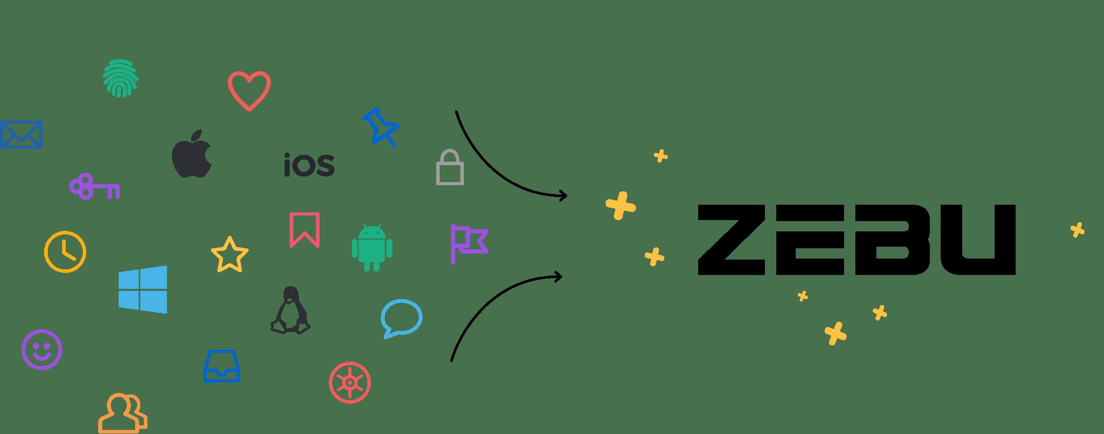 zebu uses all sorts of platform diagrams